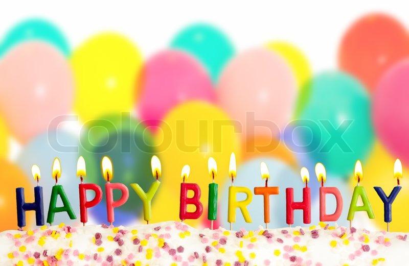 Happy Birthday Balloons With Names ~ Buy stock photos of birthday cake colourbox