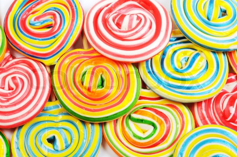 colorful candies stock photo colourbox