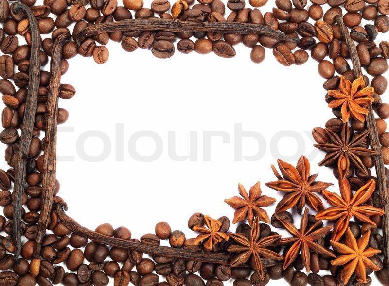 Фоторамки из кофейных зерен фото
