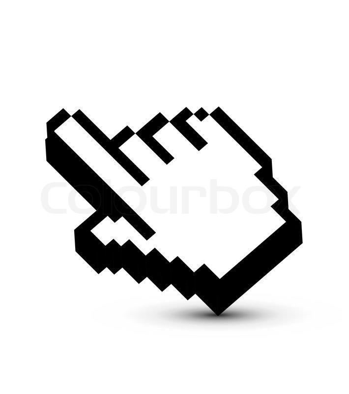 mouse pointer design stock vector colourbox - Halloween Tumblr Cursors