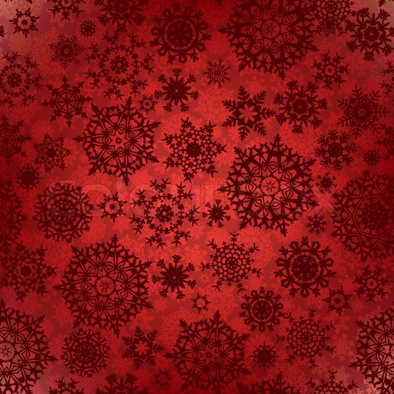 Christmas Textures.Seamless Deep Red Christmas Texture Stock Vector