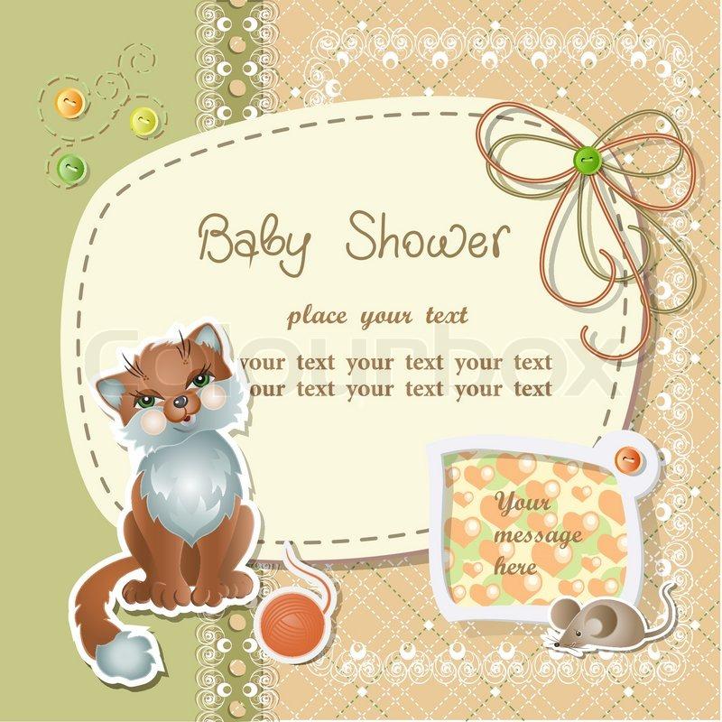 Baby Shower Wiki: Stock Vector