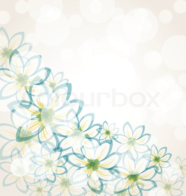 Illustration spring flower background with transparency elements for illustration spring flower background with transparency elements for design card stock vector colourbox mightylinksfo