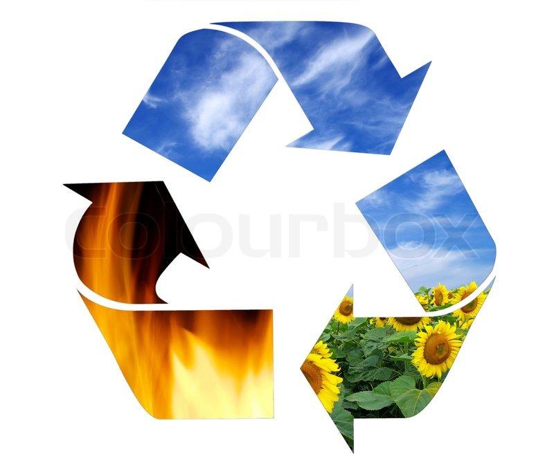 Recycling Symbol Stock Photo Colourbox