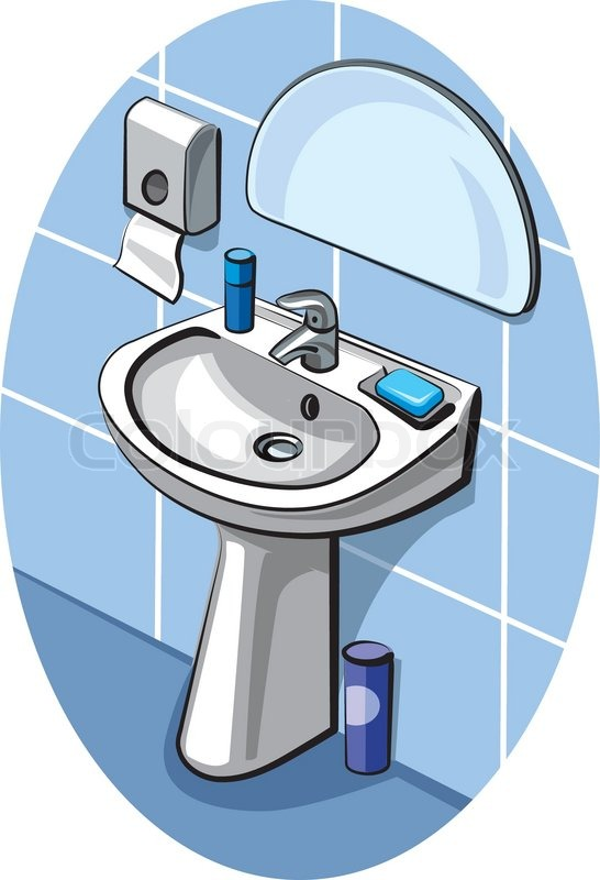 Image result for cartoon bathroom sink