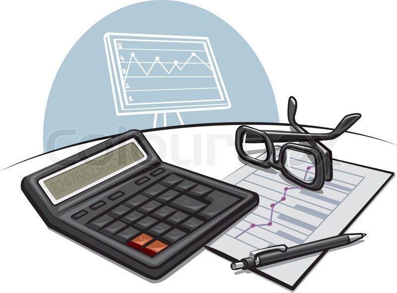 Accounting Stock Vector Colourbox