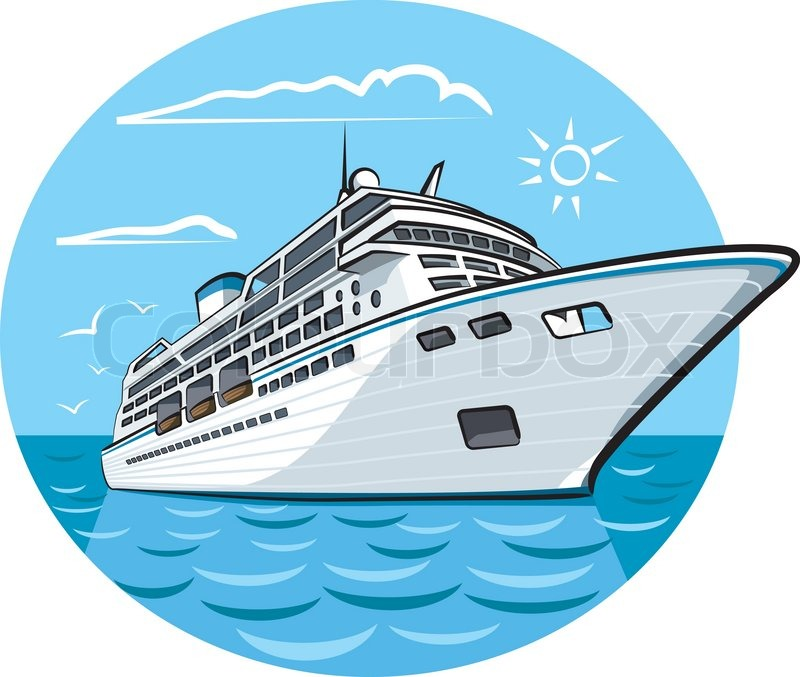 Huge Cruise Ship coloring page  Free Printable Coloring Pages