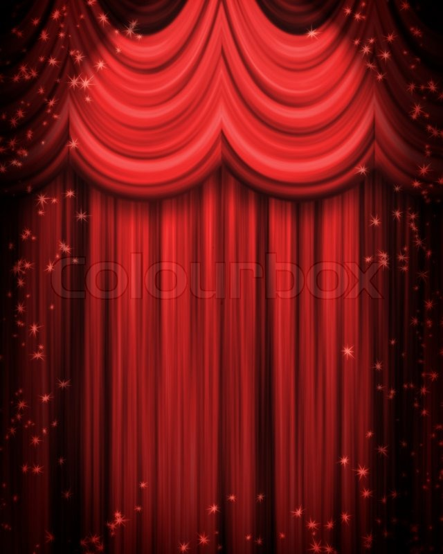 red curtains theatre - photo #19