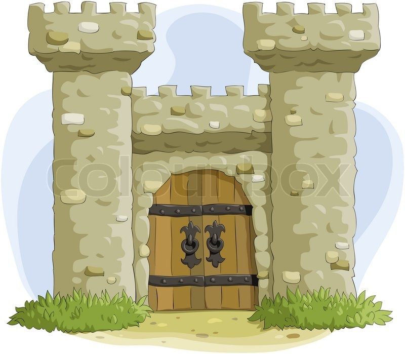 ... Door , Cartoon Door , Medieval Castle Door , Castle Door Clipart