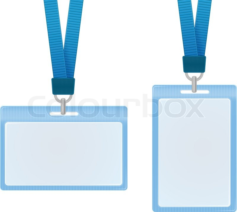 Id Cards Stock Vector Colourbox