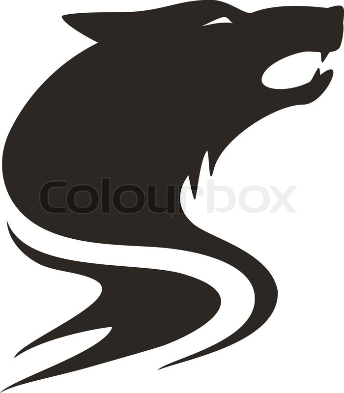 Wolf tribal | Stock Vector | Colourbox
