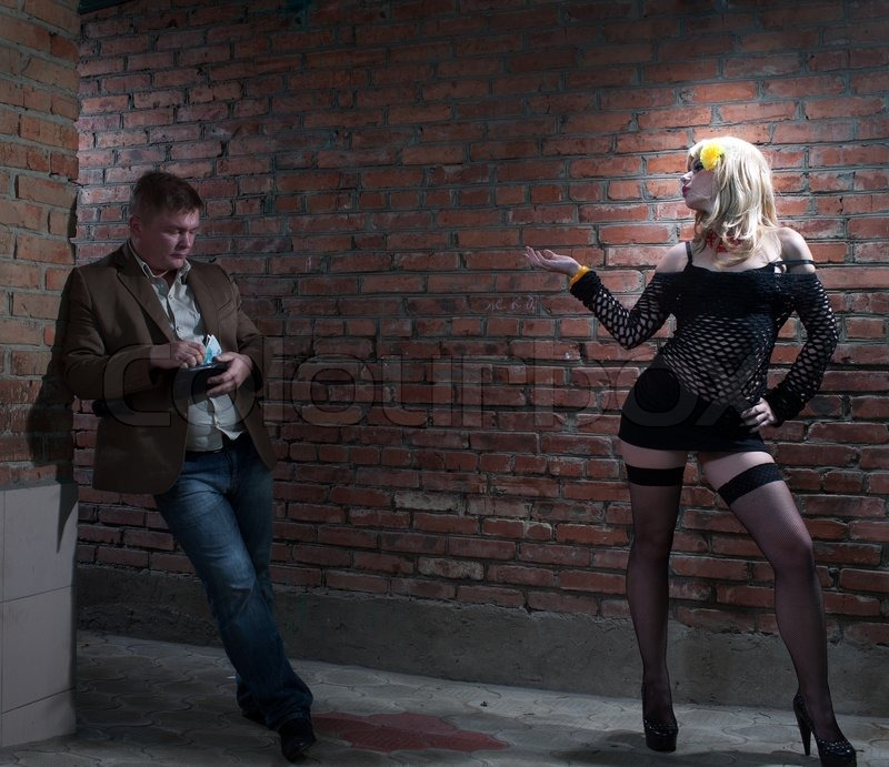 client and prostitute.
