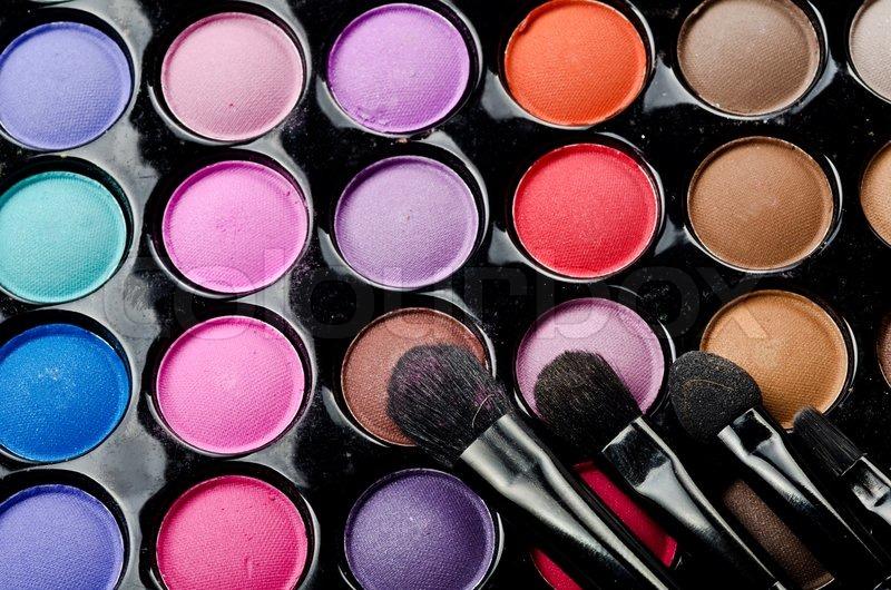 Kits on Stock Image Of  Make Up Kit