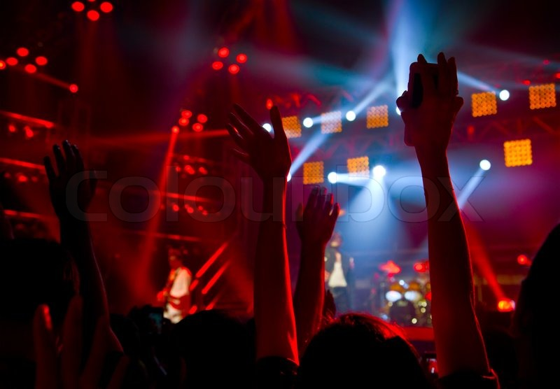 Disco party concert stock photo colourbox for 1234 get on the dance floor song download free