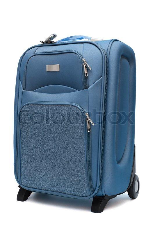 moderne gro e koffer stockfoto colourbox