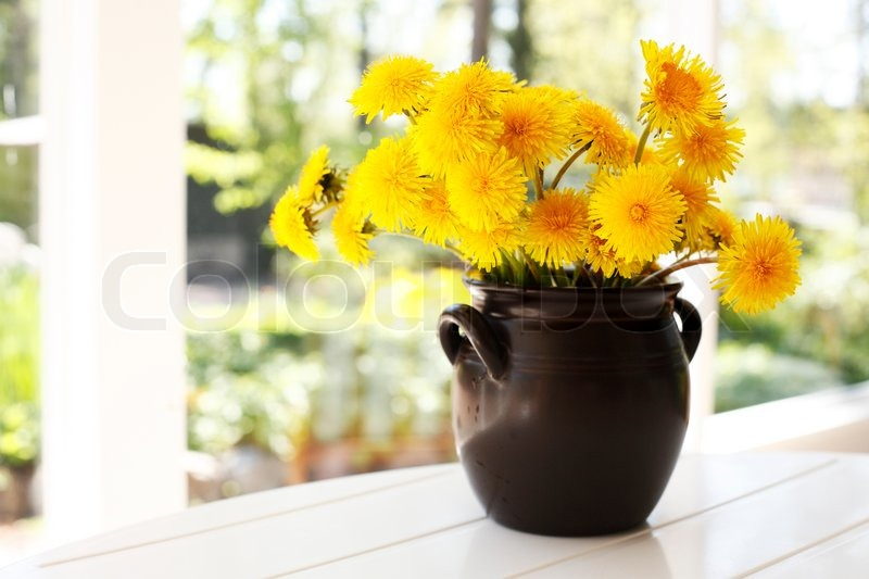 plastic flower vase online with Bunch Of Yellow Dandelions In Brown Ceramic Pot Image 3966687 on Nursery Container Sizes furthermore Diy Mini Copper Planters besides Lohe Qurani likewise 2014 Novelty NEW Round LED Crystal Acrylic Flower Vase Lights in addition Extra Large Glass Vase Extra Large Wine Glass Vase.