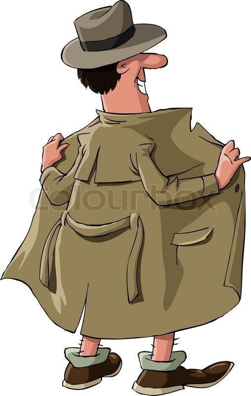cartoon mann nackt