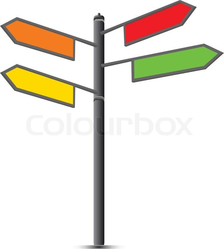 road sign stock vector colourbox rh colourbox com australian road sign vector road sign vector art