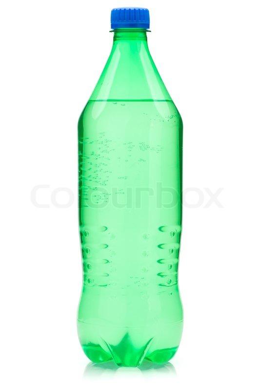 Lime Soda Bottle Stock Photo Colourbox