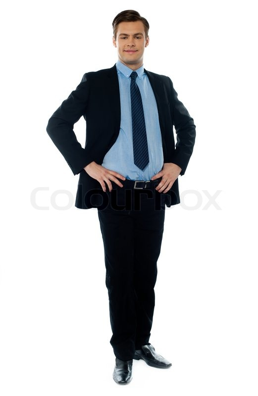 full length view of a young stock photo colourbox