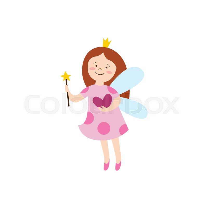 Beautiful Fairy Girl With Crown And Stock Vector Colourbox Смотри лучшие аниме сериалы и последние онгоинги онлайн, легально, включая сказка о хвосте феи, восхождение героя щита, чёрный клевер, наруто, боруто, джоджо, моб психо 100 и. beautiful fairy girl with crown and