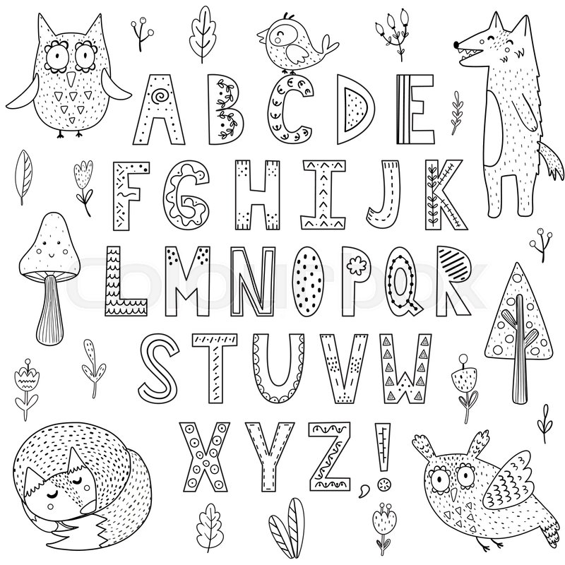 Free Black And White Coloring Pages Of Animals, Download Free Clip Art,  Free Clip Art on Clipart Library | 800x800
