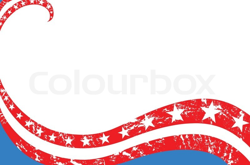 Fourth Of July Background Stock Vector Colourbox