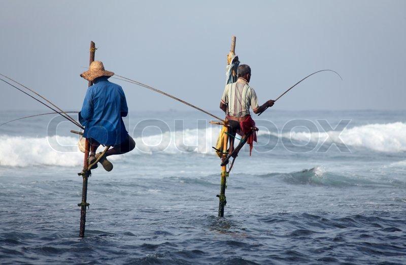 Sri lanka south coast january 05 2011 traditional sri for Sri lanka fishing