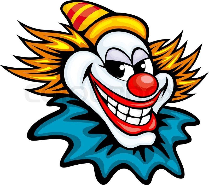 Fun Circus Clown Stock Vector Colourbox
