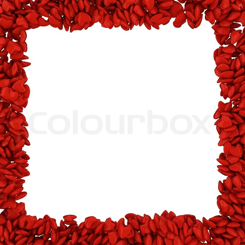 Heart frame | Stock Photo | Colourbox