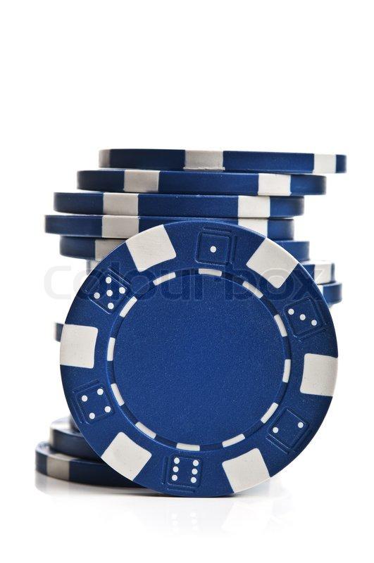 golf poker chip display