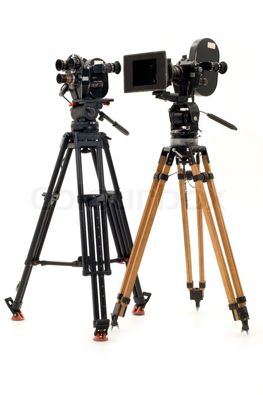 Two Professional 35 Of The Film Chamber And Tripod