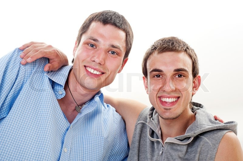 Portrait Of Two Friends Stock Image Colourbox Two Friends