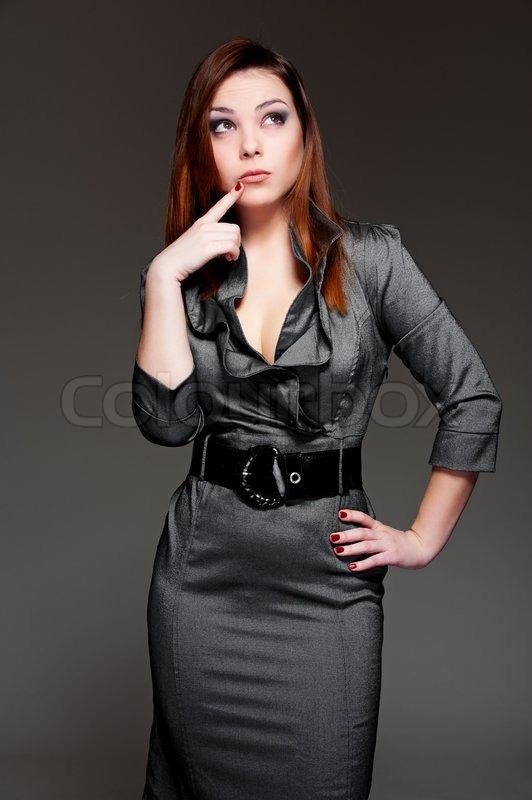 grey dress up: