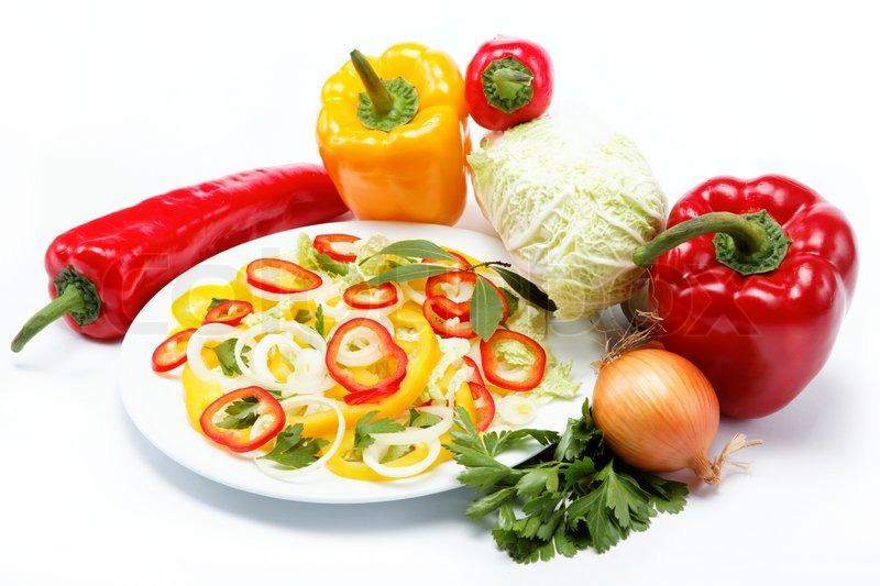 Food photo white background