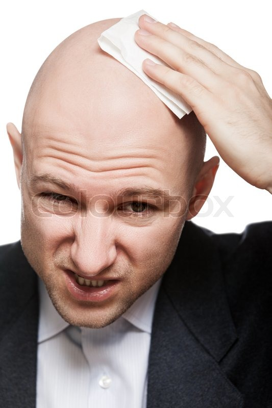 how to get a clean bald head
