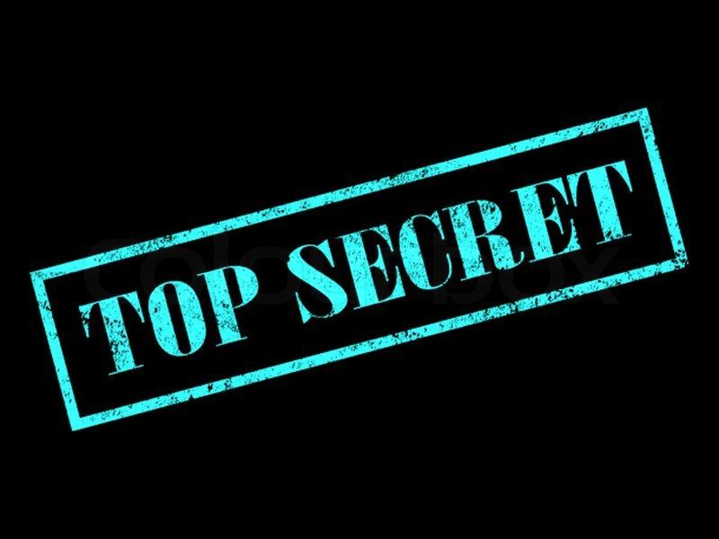 top secret stamp stock photo colourbox. Black Bedroom Furniture Sets. Home Design Ideas