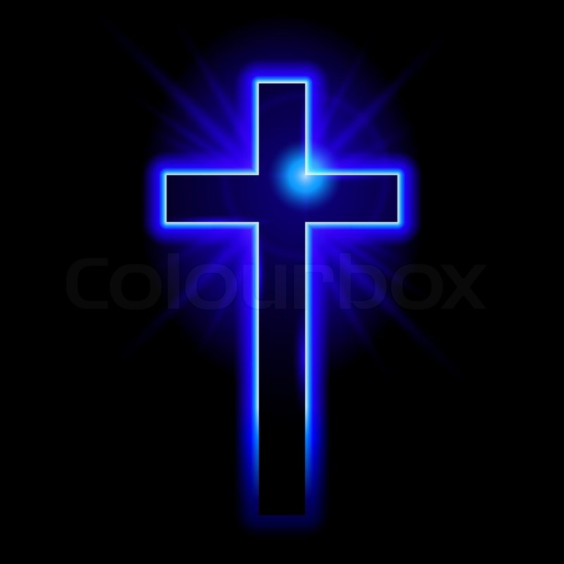 Christian Symbol Of The Crucifix Stock Vector Colourbox