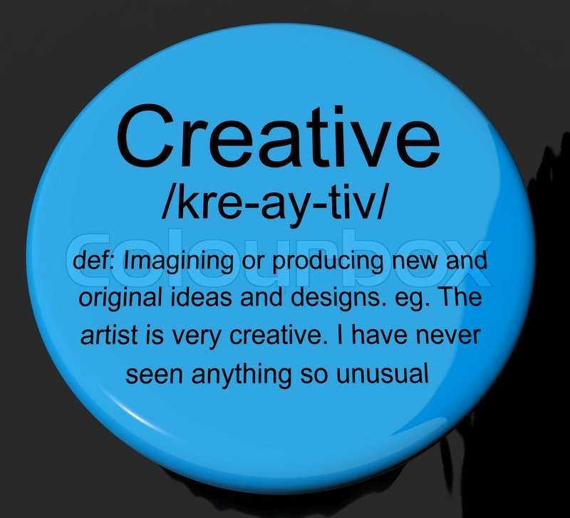 Creative Definition Button Showing