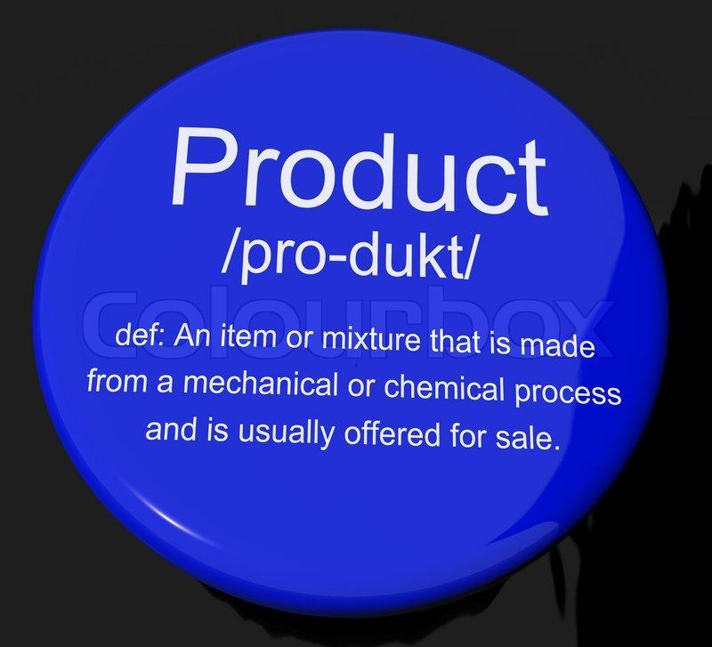 definition goods showing button colourbox supplier
