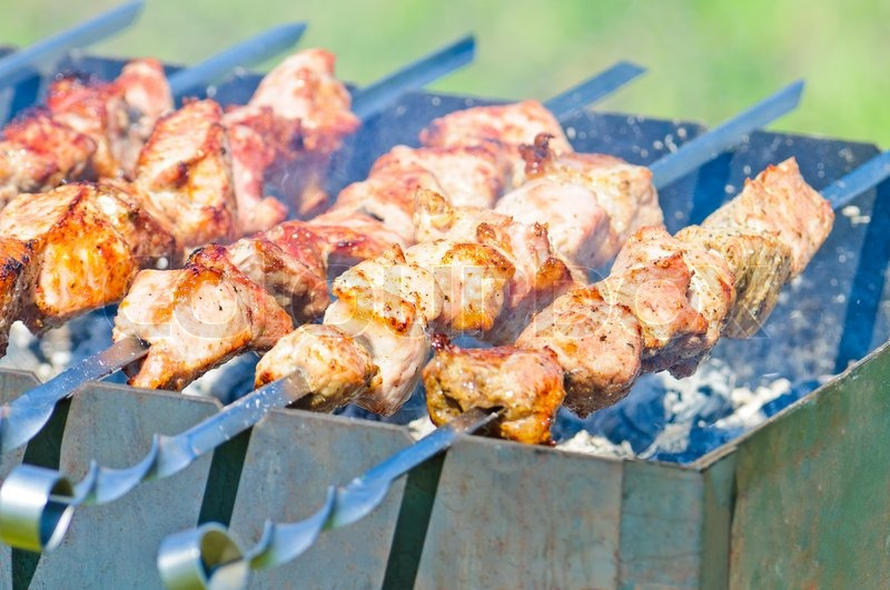 how to cook a pork roast on charcoal grill