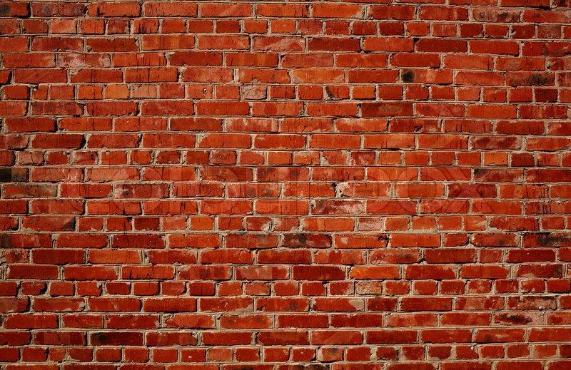 Red Brick Wall Stock Photo Colourbox