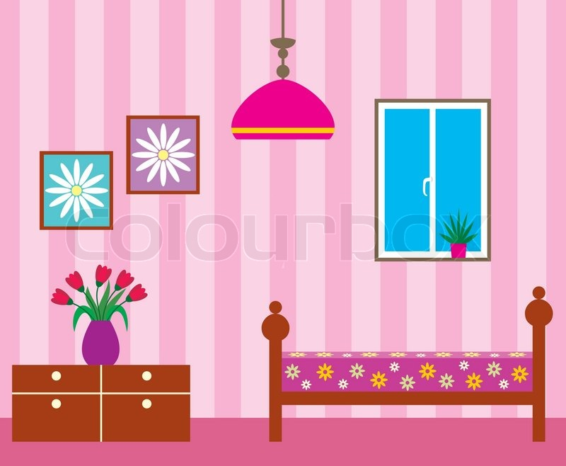 Living room | Stock Vector | Colourbox