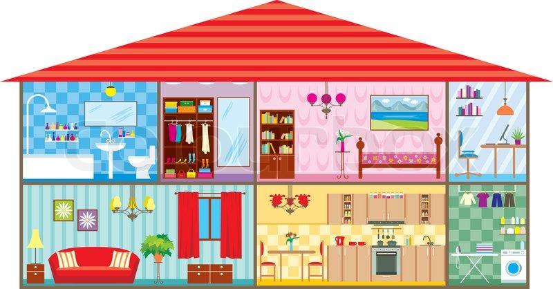 House | Stock vector | Colourbox