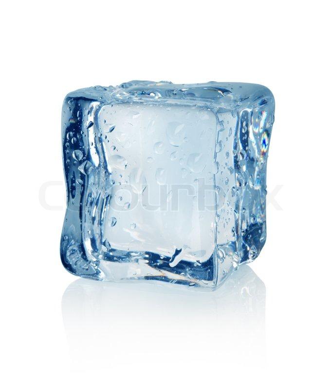 Ice Cube Stock Photo Colourbox
