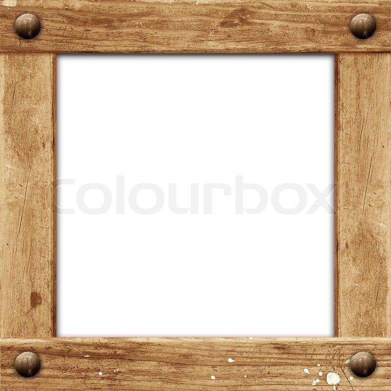 grunge wooden framestock photocolourbox