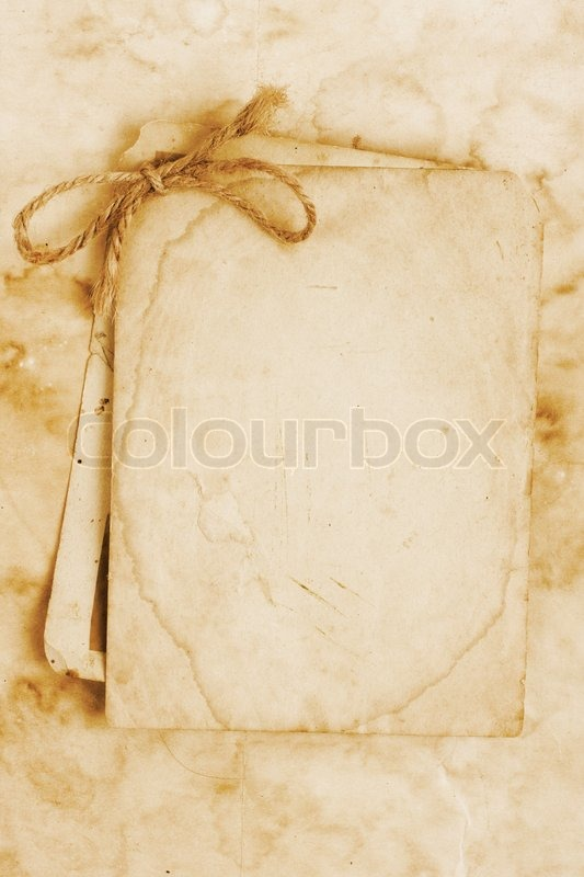 Old Fashioned Letter Paper