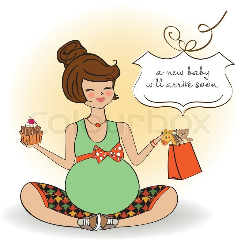 Beautiful pregnant woman stock vector colourbox beautiful pregnant woman vector bookmarktalkfo Choice Image