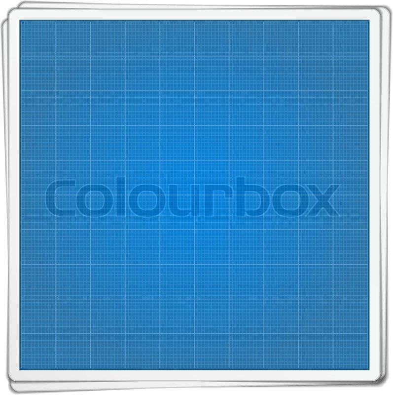 Blueprint paper stock vector colourbox blueprint paper vector malvernweather Images