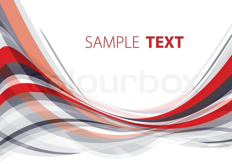abstract template grey and red vector stock vector colourbox